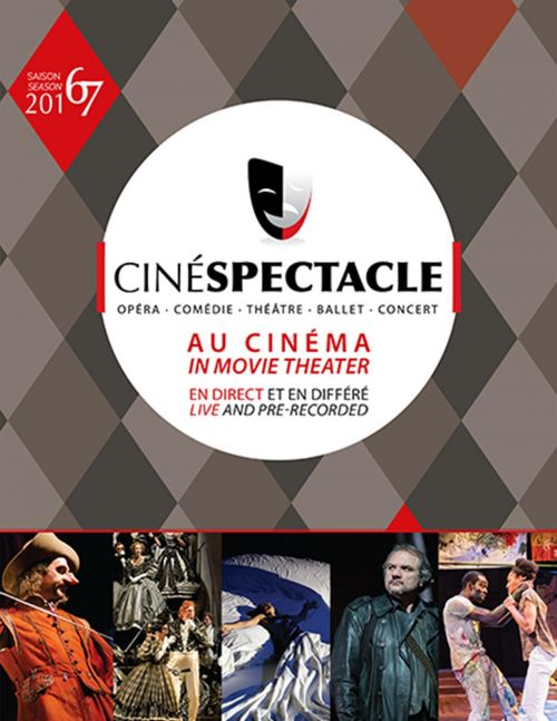 The 2016-2017 season of Cinéspectacle