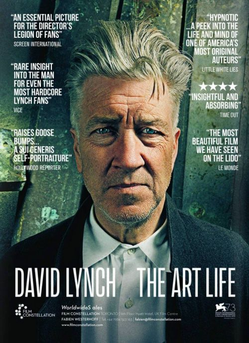 JOURNÉE DE LA CULTURE: DAVID LYNCH - THE ART LIFE