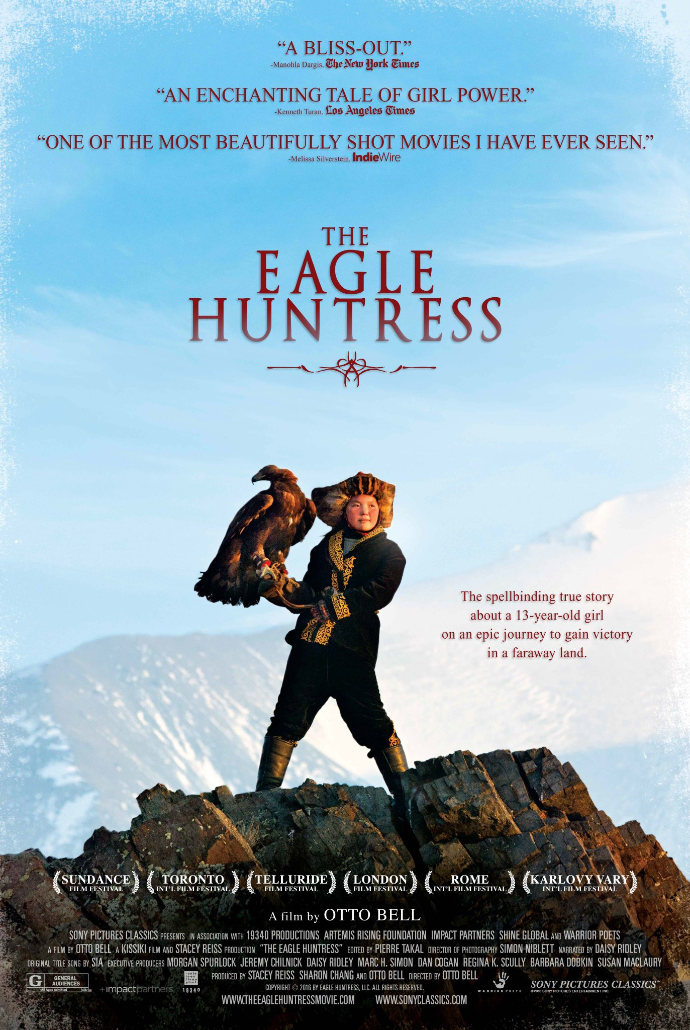 Matins au Parc: The Eagle Huntress (STA)