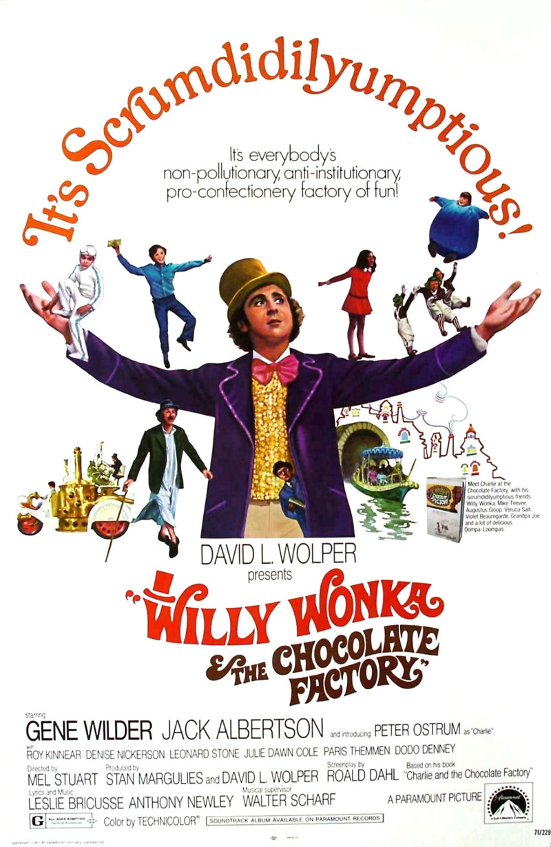 PARC FOR KIDS: WILLY WONKA & THE CHOCOLATE FACTORY