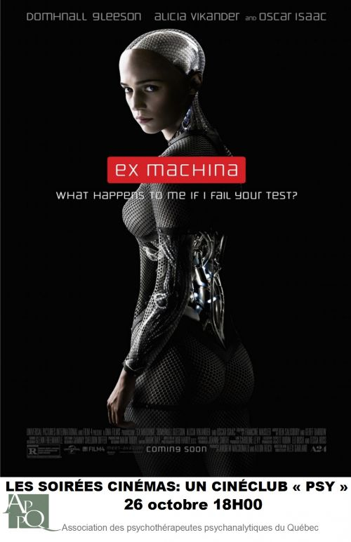 Ciné-Psy: Ex Machina (STF)