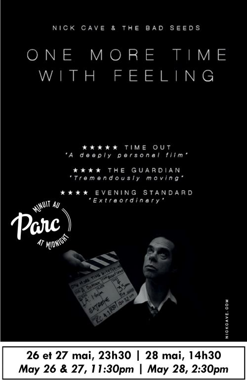 NICK CAVE: ONE MORE TIME WITH FEELING (3D) (STF)