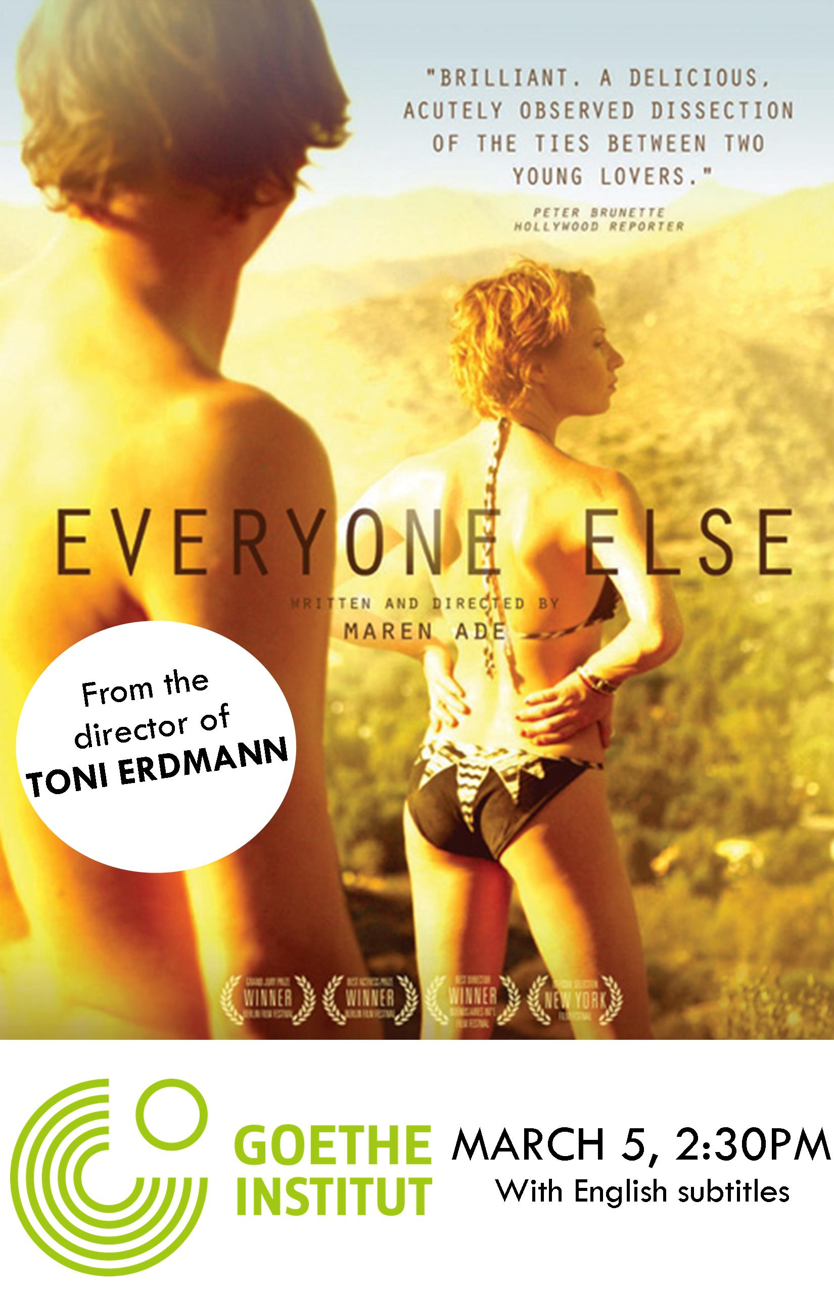GOETHE-INSTITUT presents EVERYONE ELSE (EST)
