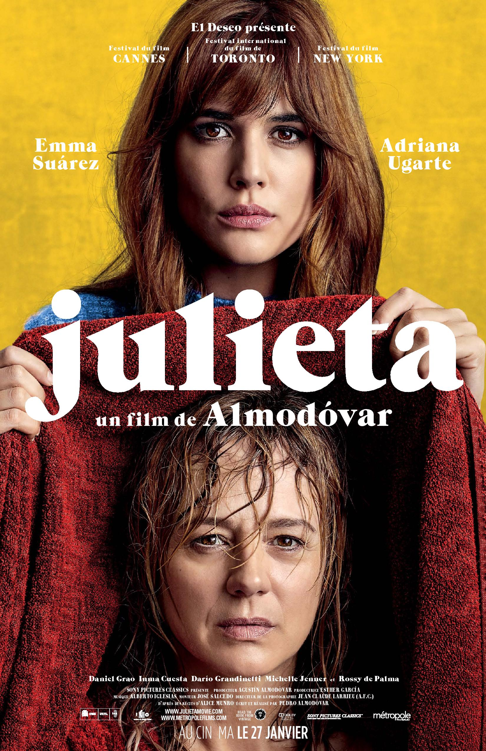PSY FILM CLUB presents JULIETA (FST)