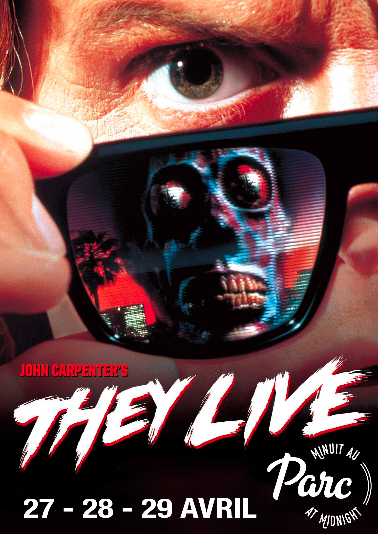 PARC AT MIDNIGHT: THEY LIVE - 30th anniversary